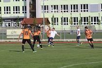 Fotbalový OP Strakonicka: Balvani - Drahonice 1:0.