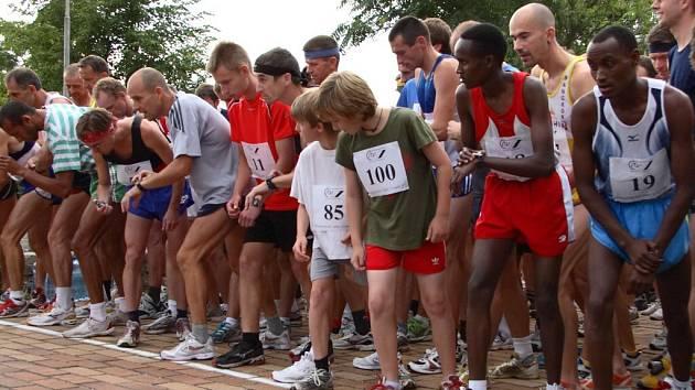 Strakonický běh městem 2007.