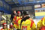 Hokejisté Radomyšle jsou v semifinále. Ilustrační foto.