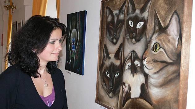 Výstava ve Lnářích.