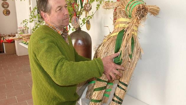 Autorem kozlíka je pracovník muzea Milan Kos