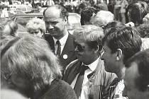 Václav Havel ve Strakonicích