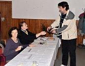 Volby v Sedlici na Blatensku.