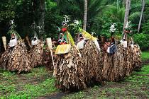 Fotografie z dobrodružných cest z Nové Guinee.