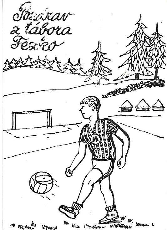 Fotbalový tábor Fezka.