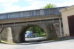 Most v Lidické ulici ve  Strakonicích
