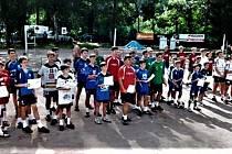 Nohejbaloví žáci absolvovali republikový šampionát.