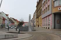 Současná podoba strakonického Velkého náměstí