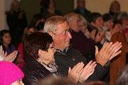 Koncert pěveckých sborů v kostele sv. Markéty.