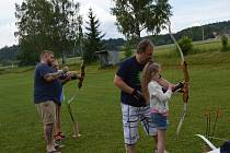 Sobota 2. června patřila v Číčenicích dětem.