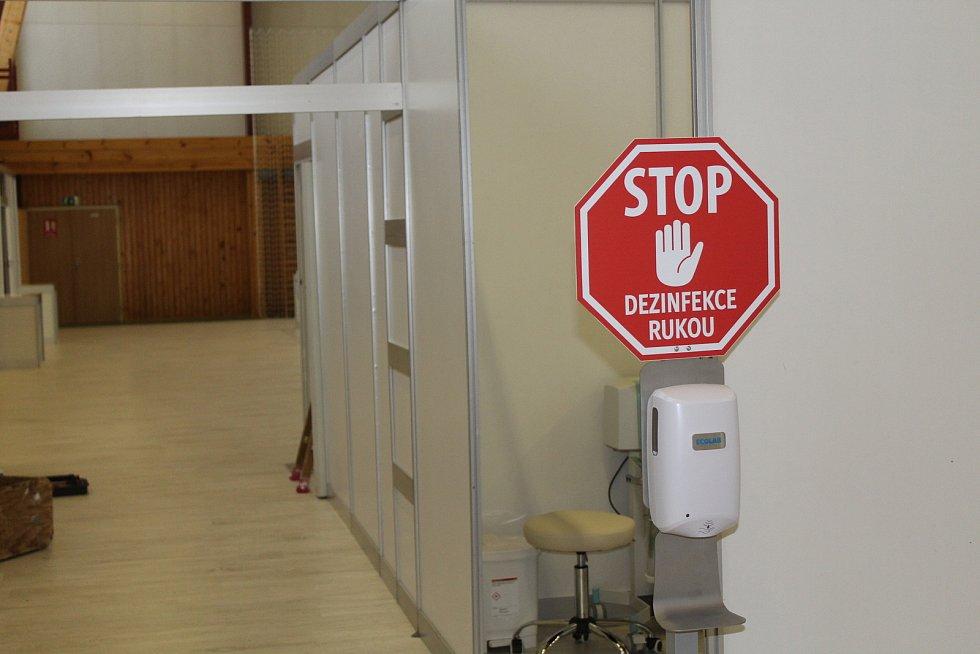 Očkovací centrum.