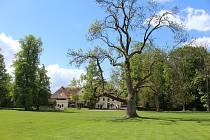 Blatenští se mohou vydat na procházku například do zámeckého parku v Blatné. Nyní zdarma.