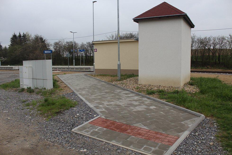 Vlakové nádraží v Bělčicích změnilo podobu.