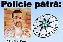 Pohřešovaný Ján Marťan.
