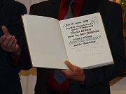 Čestný občan Vodňan spisovatel Jan Bauer.