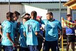Fotbalová divize A: Katovice - Mariánské Lázně 1:3 (1:2).