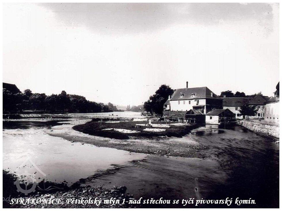 Pětikolský mlýn.