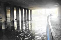 Zaplavený viadukt