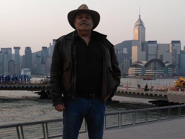 Jiří Máška v Hong Kongu.