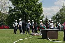 Okrsková soutěž v požárním útoku v sobotu 18. května