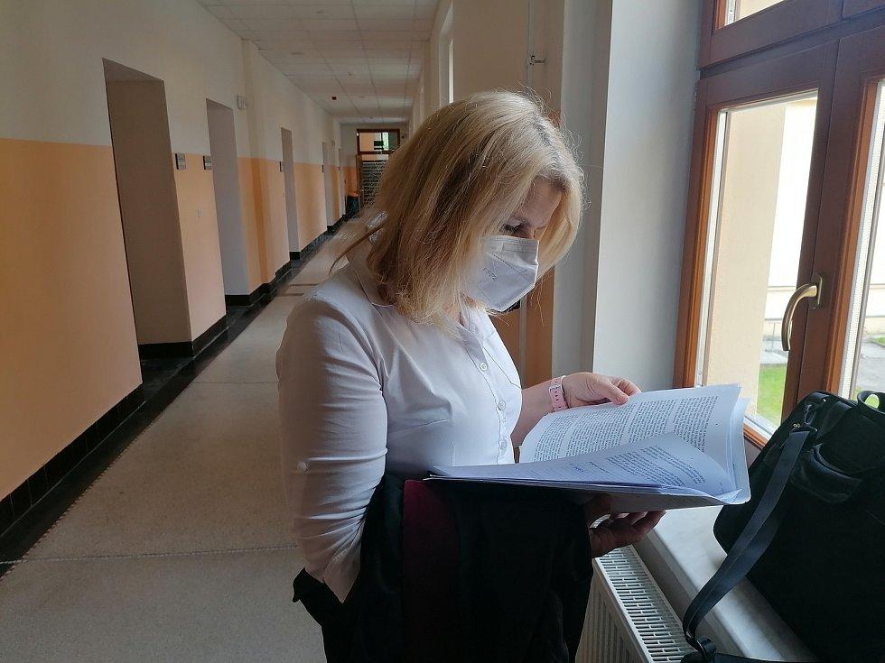 Státní zástupkyně Miroslava Prokešová.