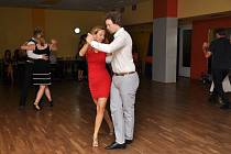 Čajovna Pod Stolem pořádala v sobotu 20. července v rámci letní školy tanga s Miguelem výuku zaměřenou na argentinské tango.