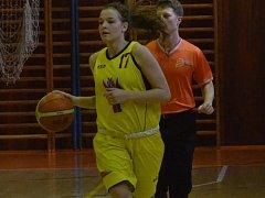 Strakonická basketbalistka Jolana Krejčová.