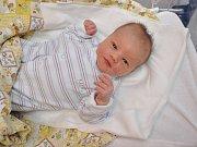 Sebastian Carvan, Vacov, 18.11. 21017, ve 12.12 hodin, 3580 g. Malý Sebastian je prvorozený.
