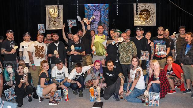 16. celostátní tetovací show se zahraniční účastí se konala v sobotu 6. dubna v kulturním domě ve Strakonicích.