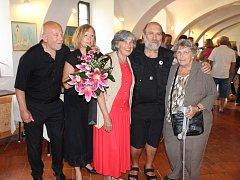 Valentin Horba a David Habernann vystavují svá díla v galerii hradu Švihov u Klatov do 29. září.