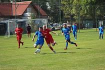 Fotbalová B třída: Bavorov - Střelské Hoštice 3:1.