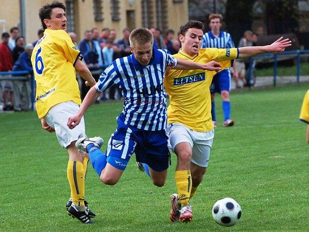 Strakonice předvedly proti Benešovu mizerný výkon a ve 22. kole divize s ním doma prohrály 2:3.