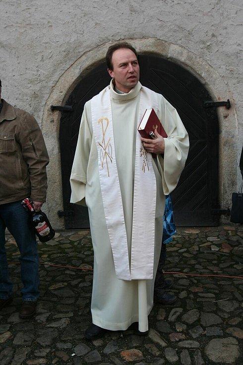 Farář Roman Dvořák.