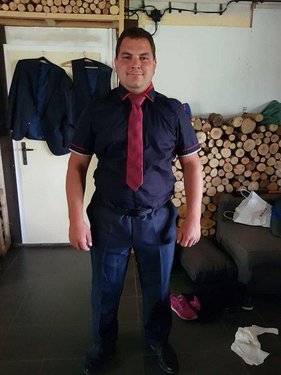 David Hubička, starosta Dobrovolného hasičského sboru Vojkovice