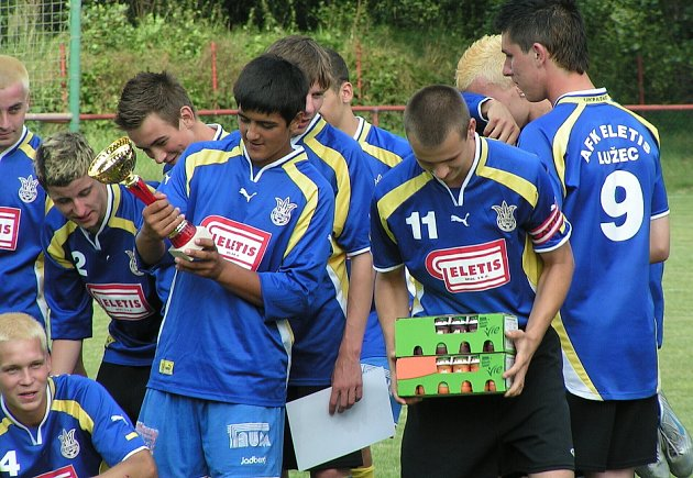 V Lužci se hrál dorostenecký turnaj hejtmana Středočeského kraje.