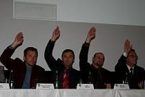 Ustavující zasedání v Kralupech nad Vltavou.