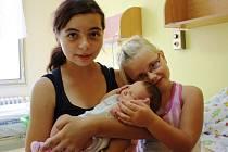 Žaneta Peluchová se rodičům Žanetě a Honzovi z Lužce narodila v mělnické porodnici 17. července 2015, vážila 3,18 kg. Ze sestřičky se těší dvanáctiletá Vaneska a pětiletá Julietta.