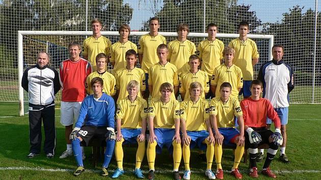 Starší dorostenci FK Neratovice/Byškovice (podzim 2011).
