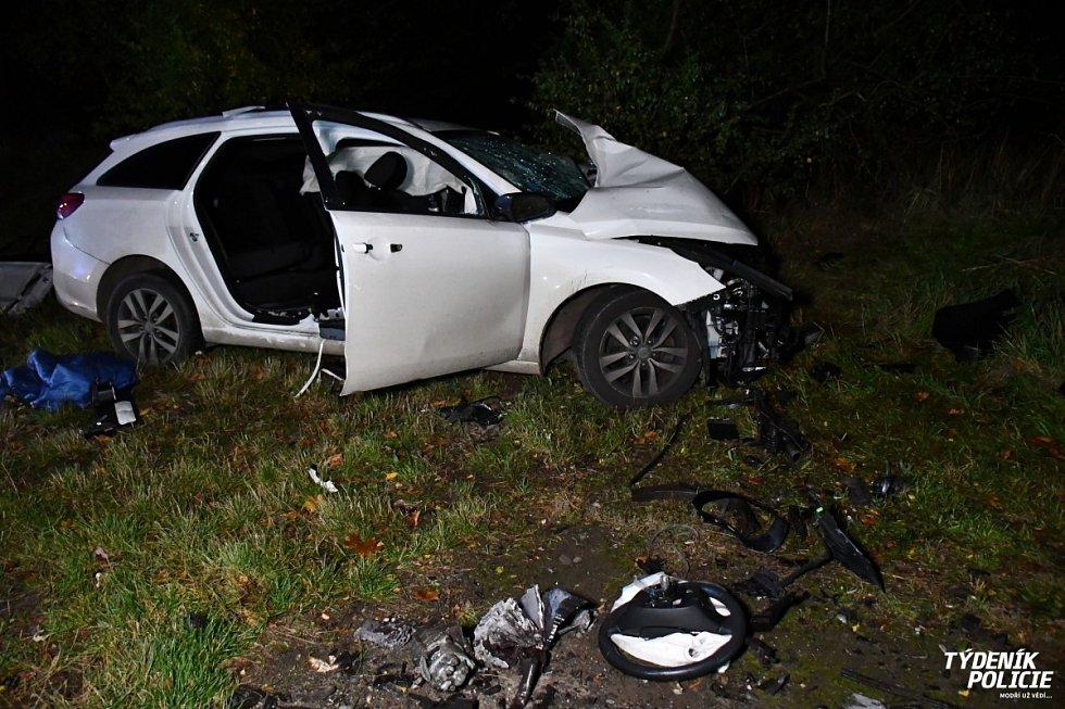 Tragická nehoda u Zlonína.