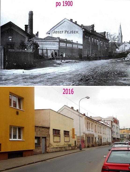 V Havlíčkově ulici měl továrnu Josef Pejšek, výroba benzinových a naftových motorů pro zemědělské stroje.