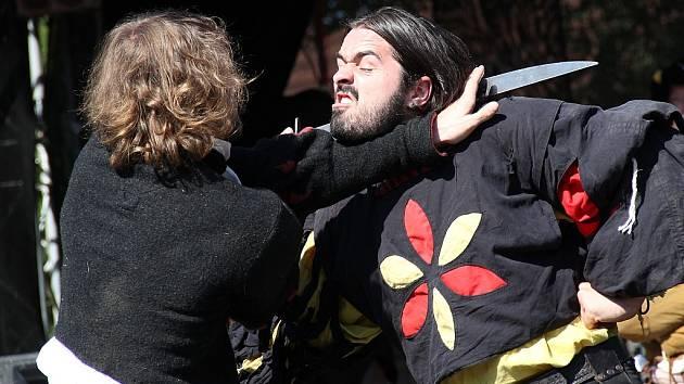 Tuhaňské šermíření 2013.