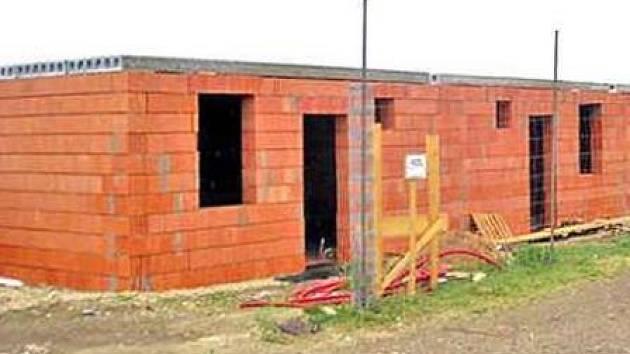 První etapa řadových domů bude dokončena letos v září.