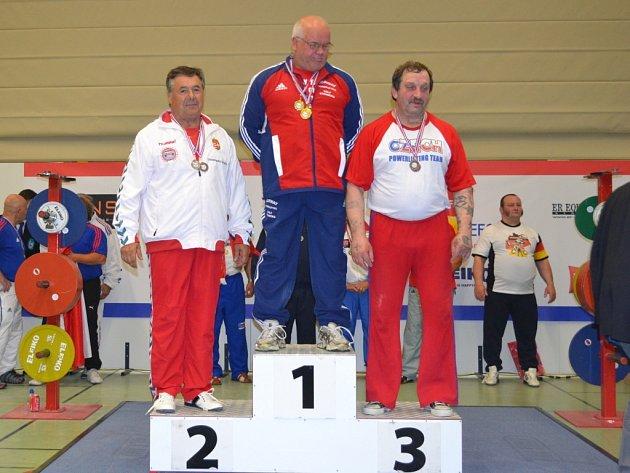 Štefan Zvada na bronzovém stupínku