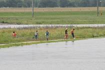 Ve Vraňanech naměřili vodohospodáři druhý stupeň povodňové aktivity.