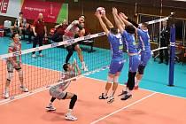 Volejbalisté Odolena Vody navázali v dohrávce na sobotní vítězství nad pražskými Lvy.