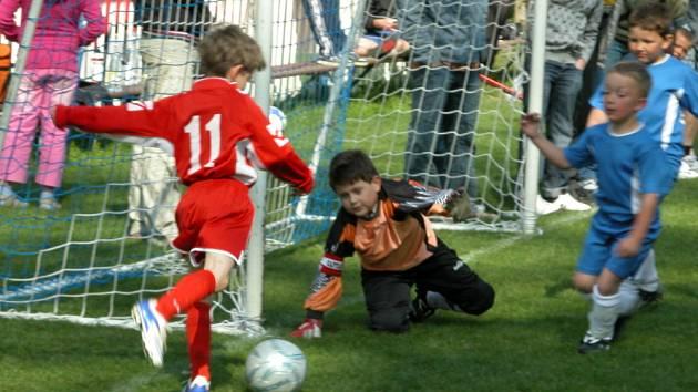 Ze sobotního turnaje mladších přípravek ve Klích