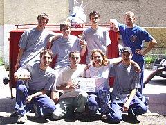 Dobrovolní hasiči z Mělnického Vtelna se účastní několika soutěží ročně