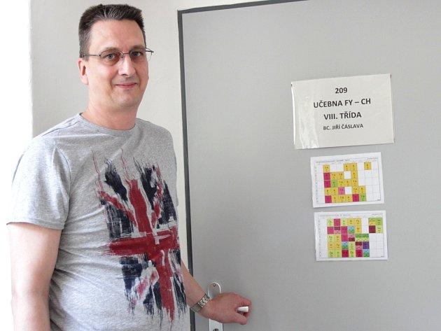 Oblíbencem byšických školáků je Jiří Čáslava.