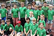 Jana Černá se s dětmi často účastní různých sportovních akcí a soutěží. V úterý například se svými svěřenci vyrazila na turnaj v miniházené.