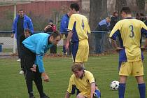 Rozhodčí Miroslav Hampl i přes nepříjemnou zkušenost zášť vůči fotbalistům Zálezlic necítí.